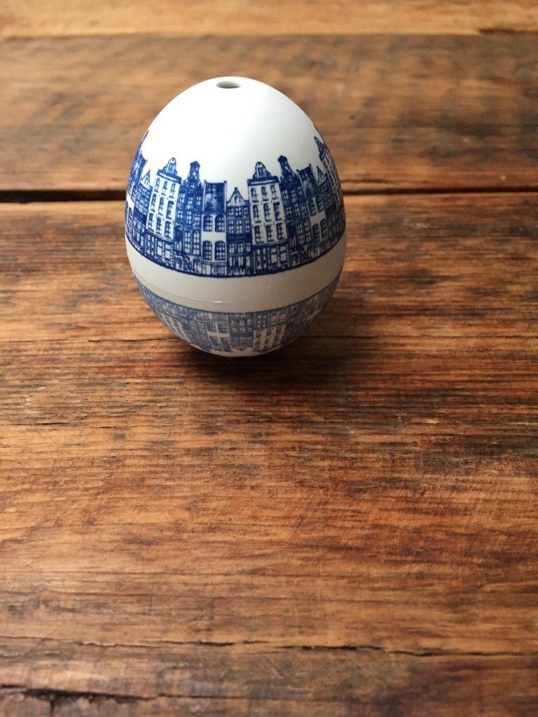Piepei Delfts blauw voor perfecte eieren getest door foodblog Foodinista