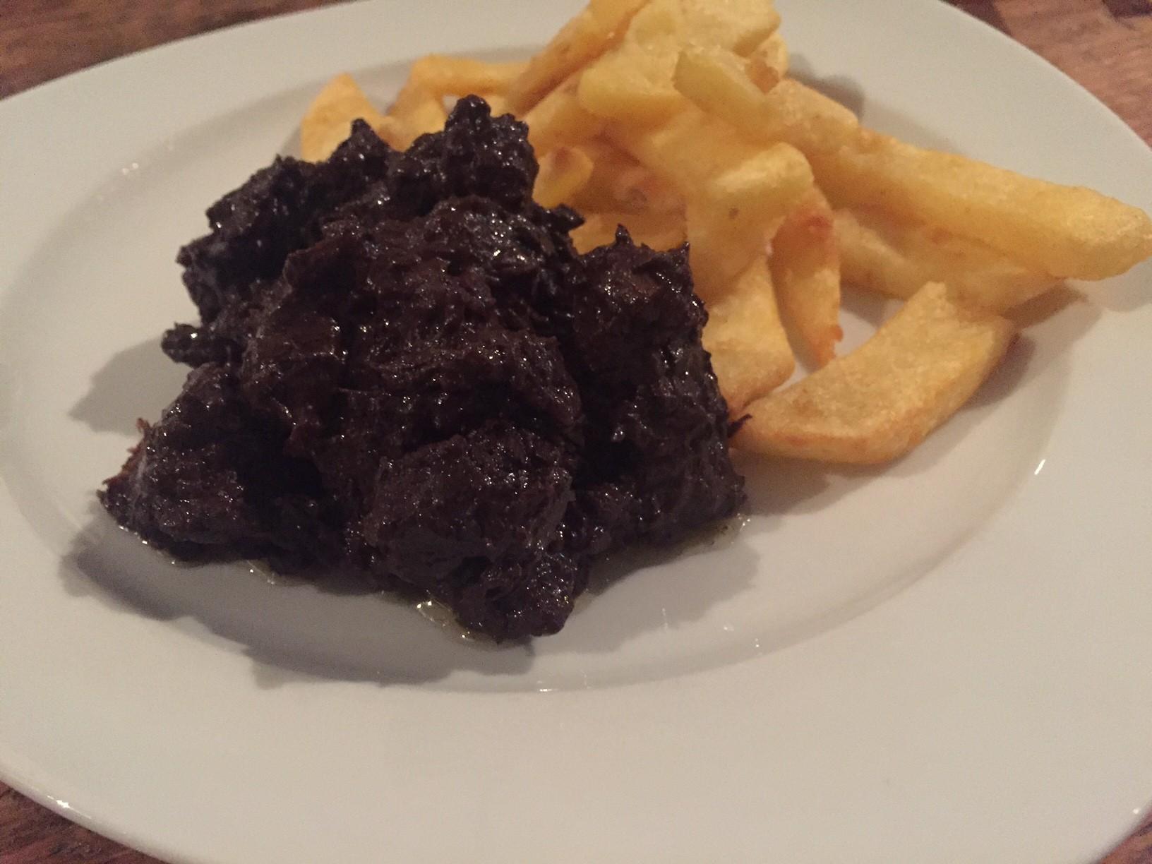 Stoofvlees met chocolade en brugse zot recept foodblog Foodinista