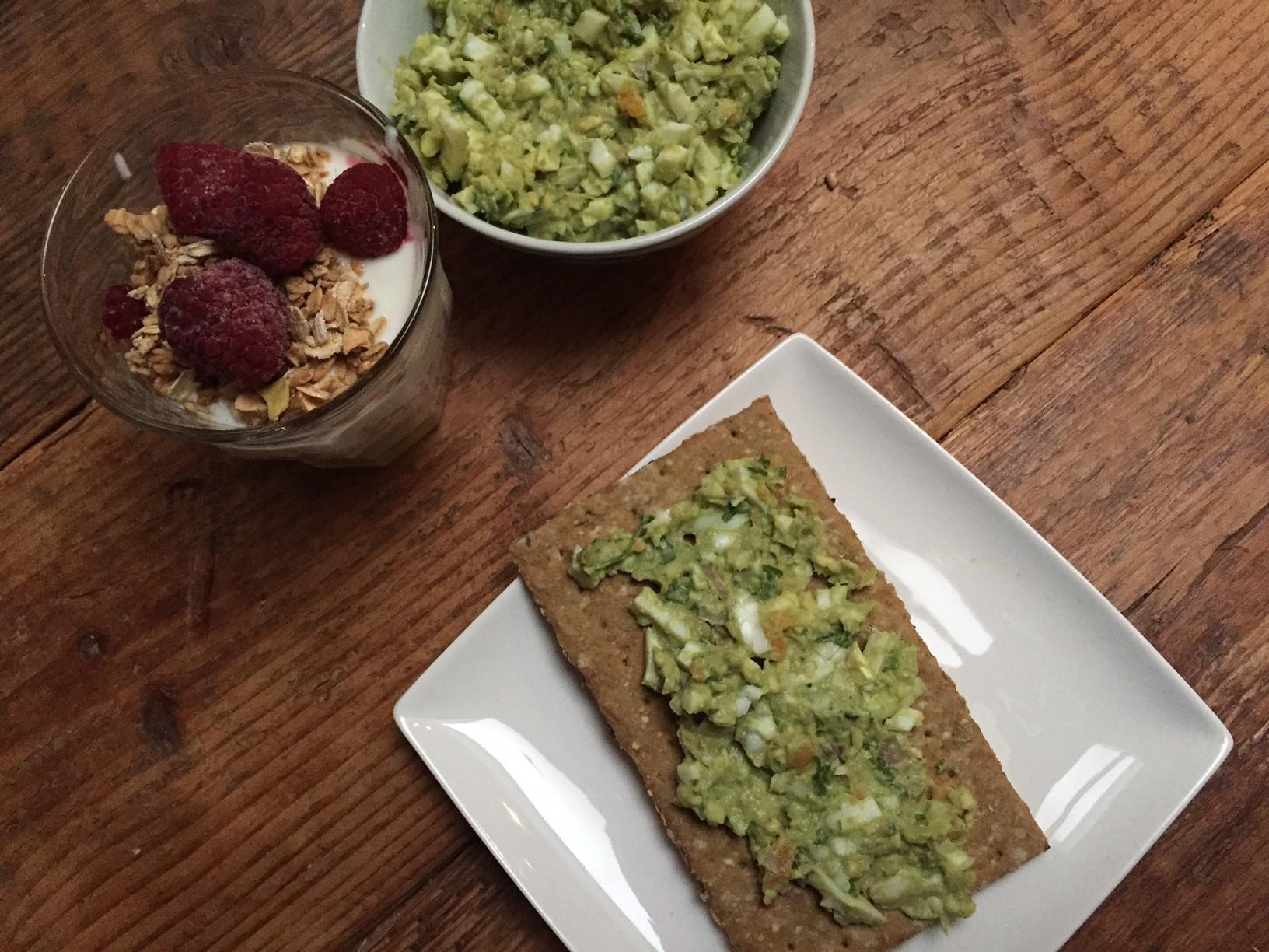 Avocado Eiersalade recept van foodblog Foodinista
