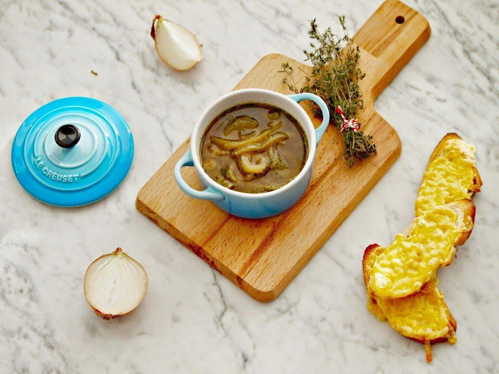 Budgetrecepten tips Snelle uiensoep foodblog Foodinista