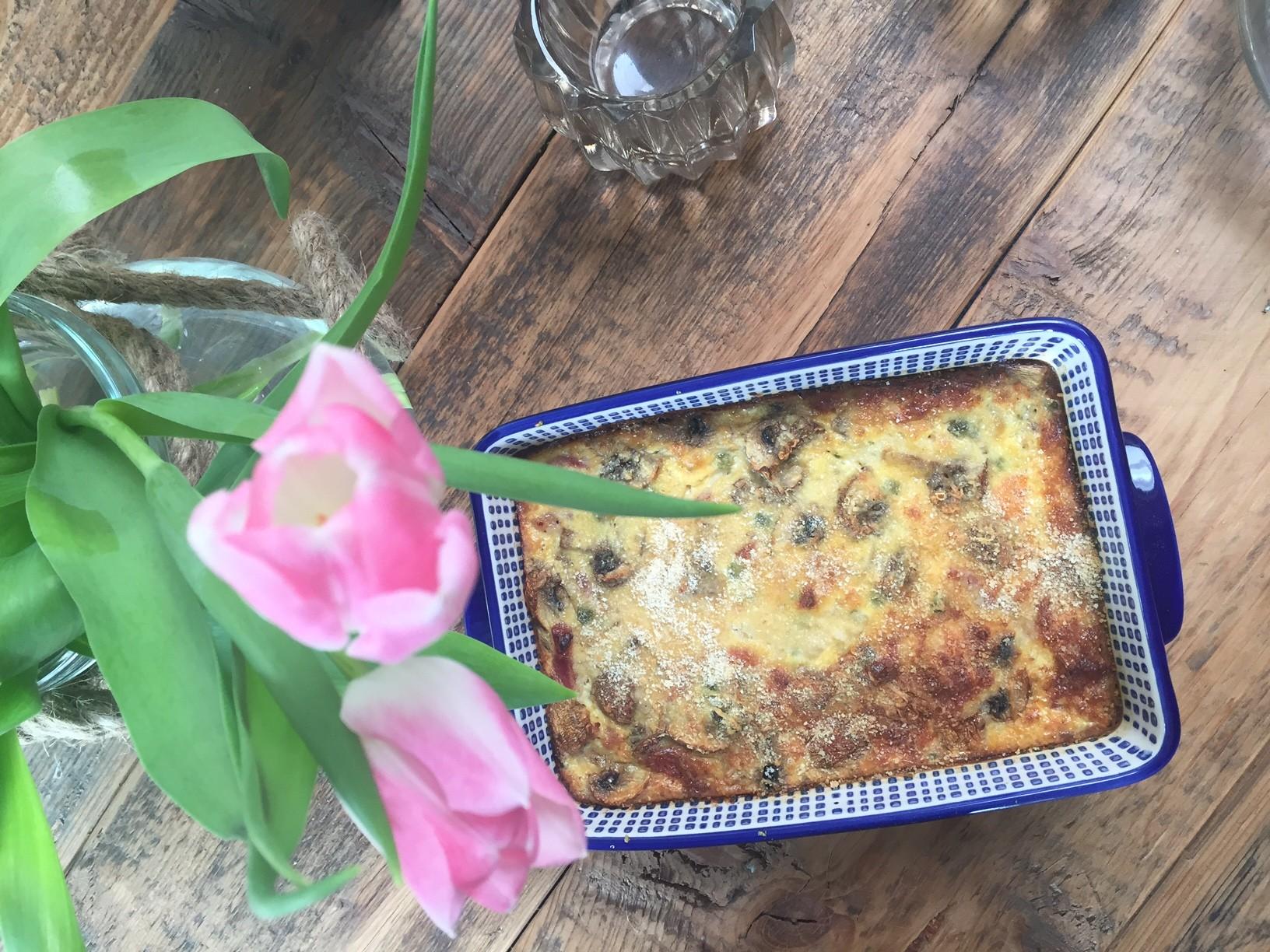 Boeren frittata recept foodblog Foodinista