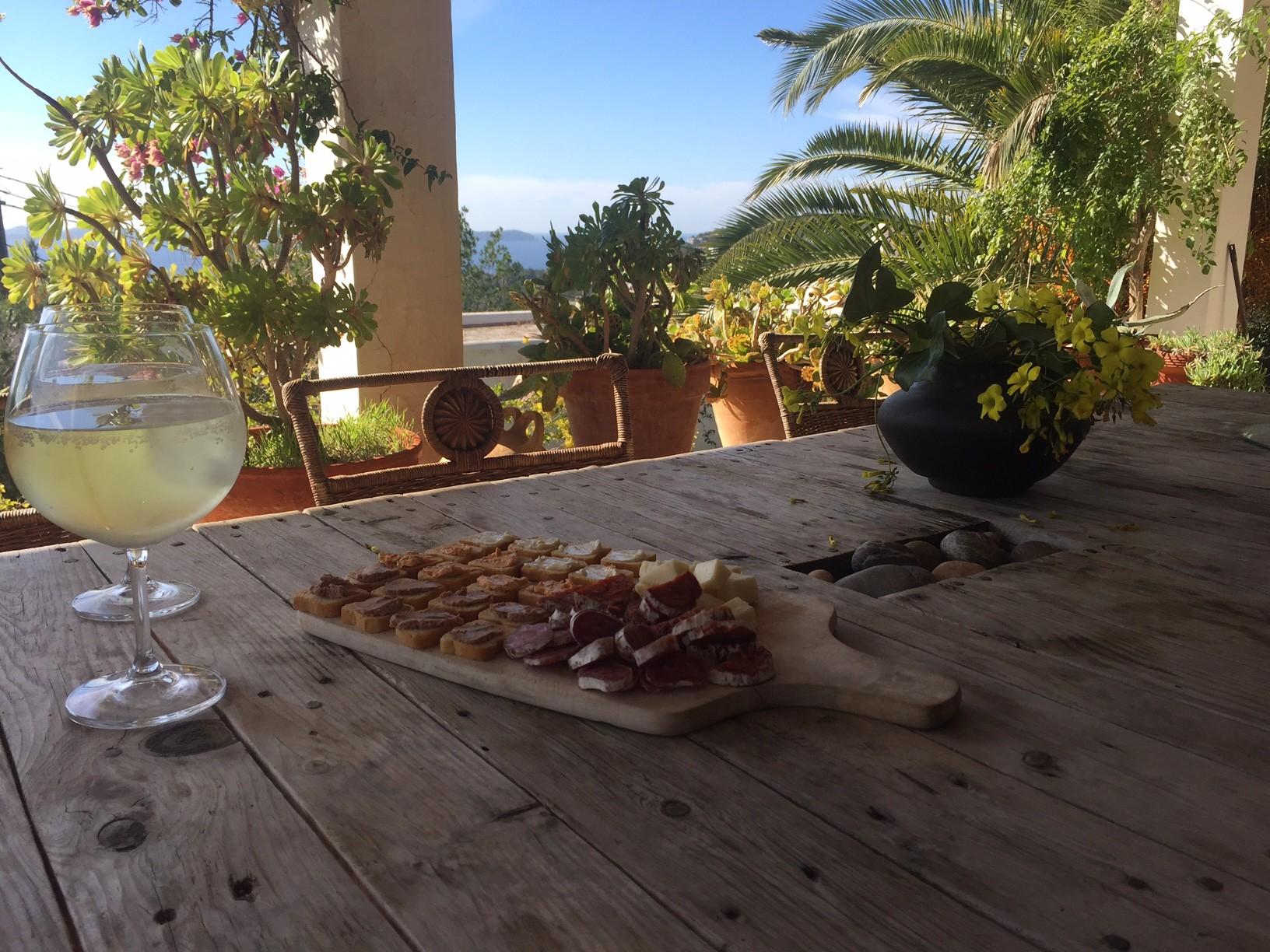 Februari Dagboek Foodblog Foodinista Uitzicht Ibiza