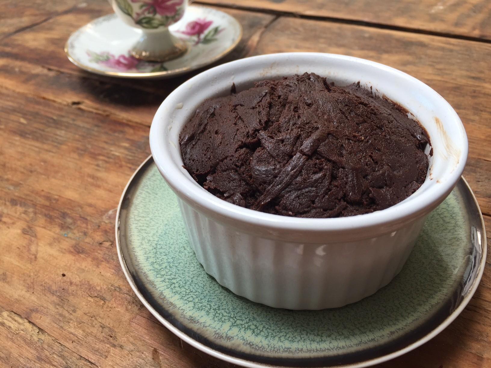 Smeuïge brownie in een cup recept van foodblog Foodinista