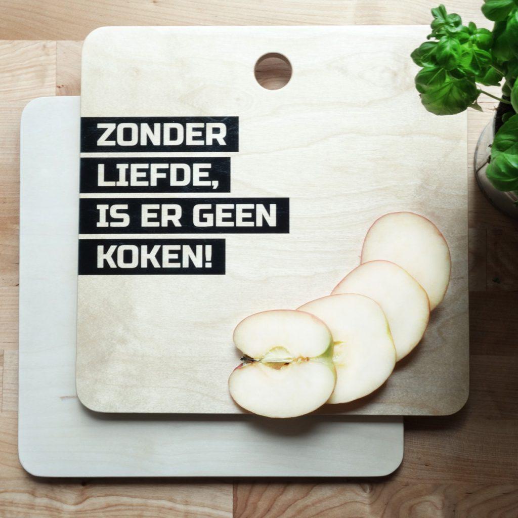 Gepersonaliseerde snijplank Originele moederdagcadeautjes voor foodies tips van foodblog Foodinista