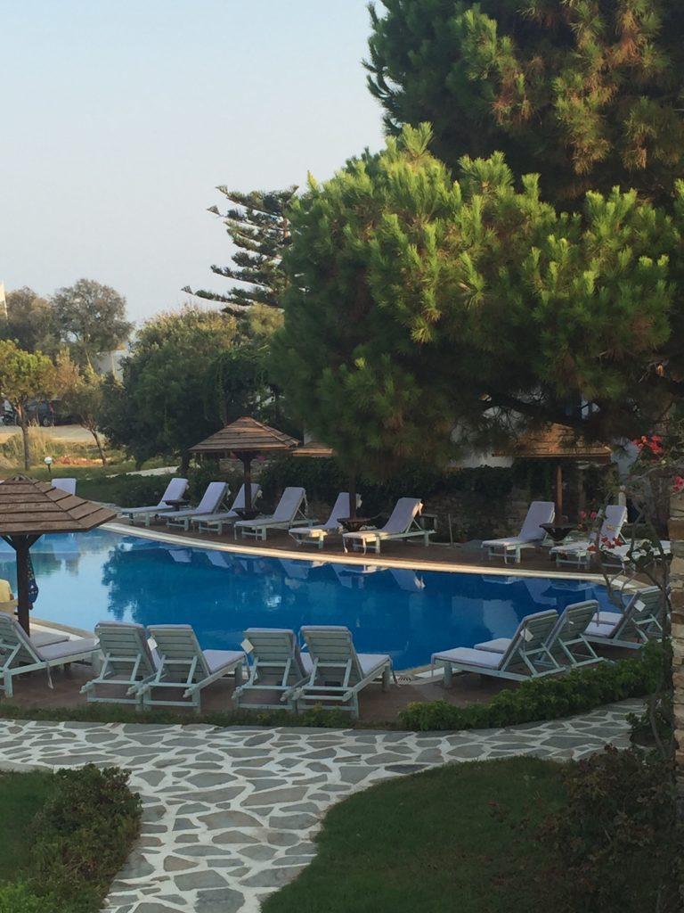 Alkyoni Beach Hotel in Naxos Chora Griekse Cycladen
