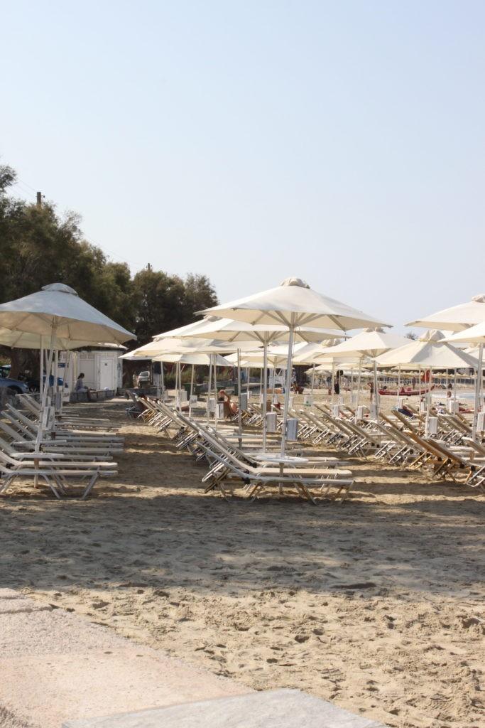 Stranddagje Strand Naxos Beach Cycladen Griekenland Blogger Foodinista