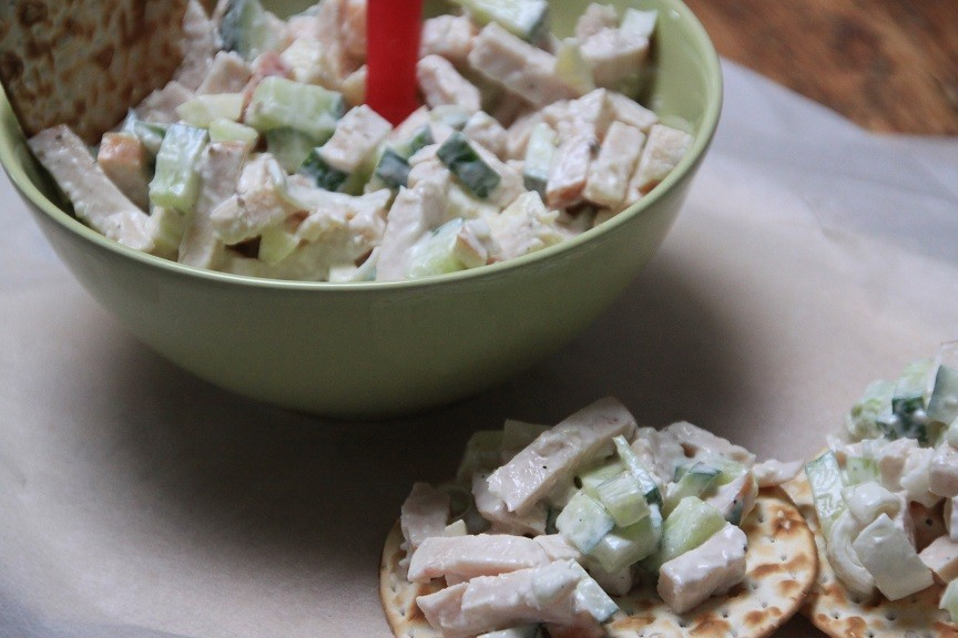 Gerookte kip salade recept Foodblog Foodinista