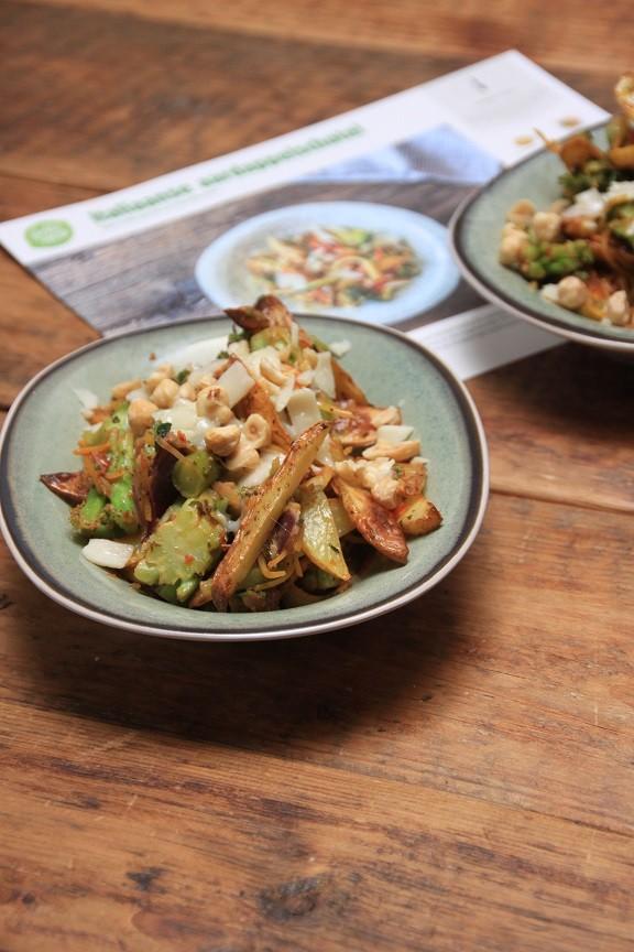 Italiaanse aardappelsalade van Hello Fresh Foodblog Foodinista
