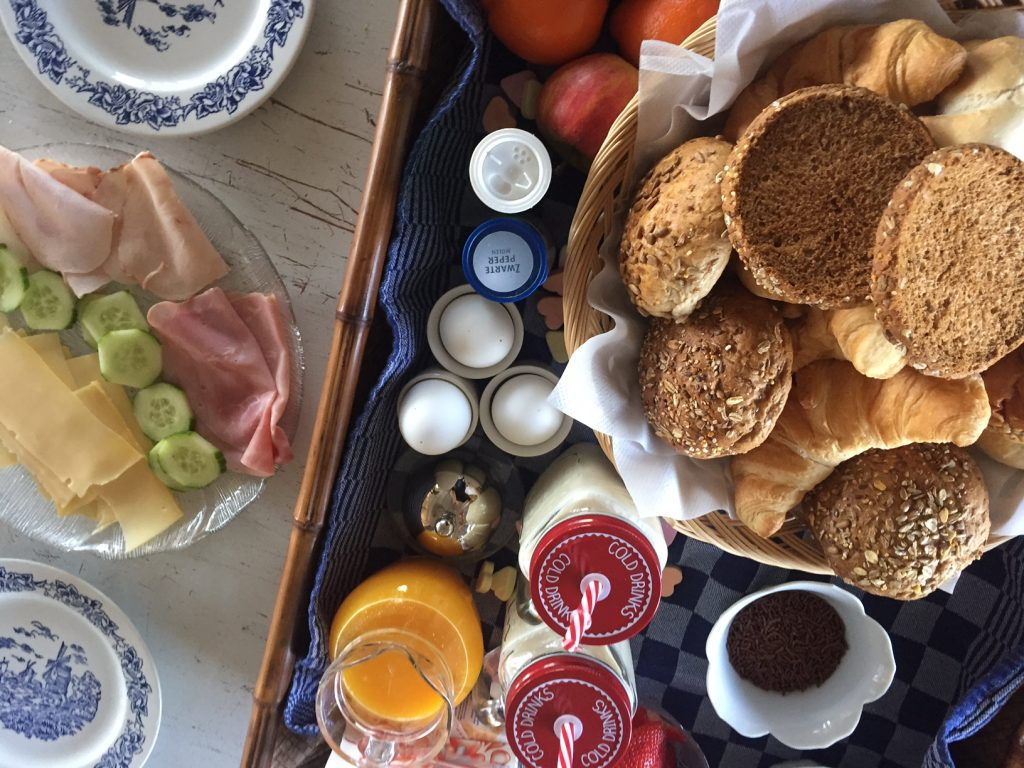 Ontbijt vakantiehuis in Friesland
