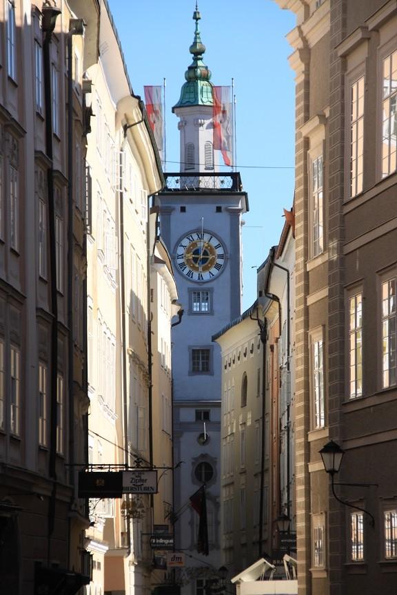 Salzburg in de vroege ochtend Foodblog Foodinista op reis in Salzburg Oostenrijk reistips