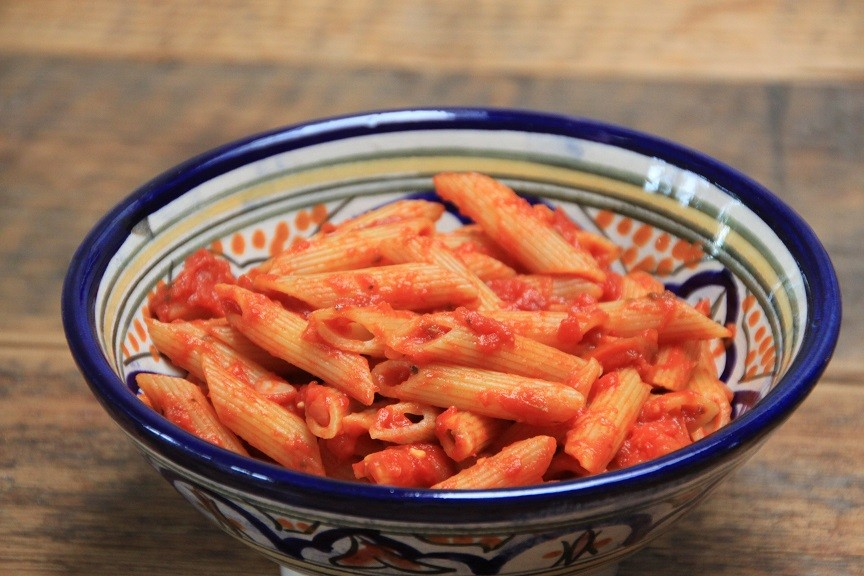 Recept voor Pasta Arrabiata van Foodblog Foodinista