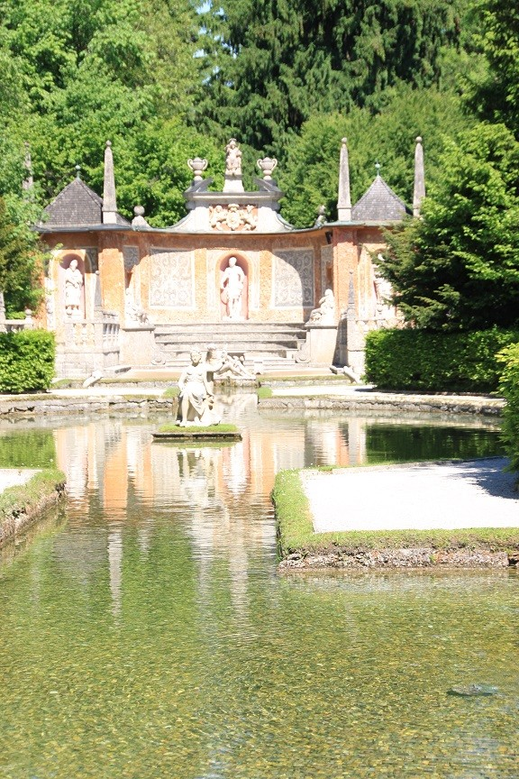 Schloss Hellbrunn Foodblog Foodinista reist in Oostenrijk Salzburg