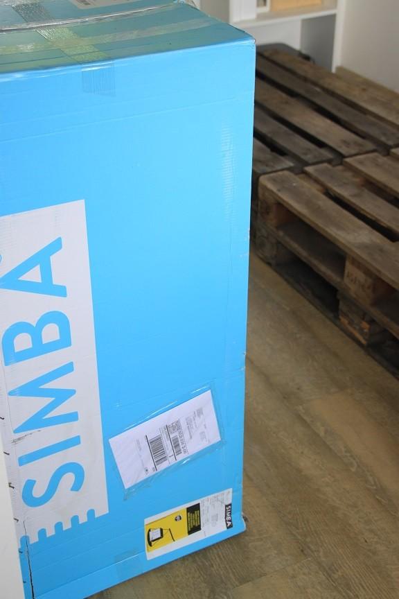 Ontvangst Simba Matras en pallats op zolder blogger Foodinista