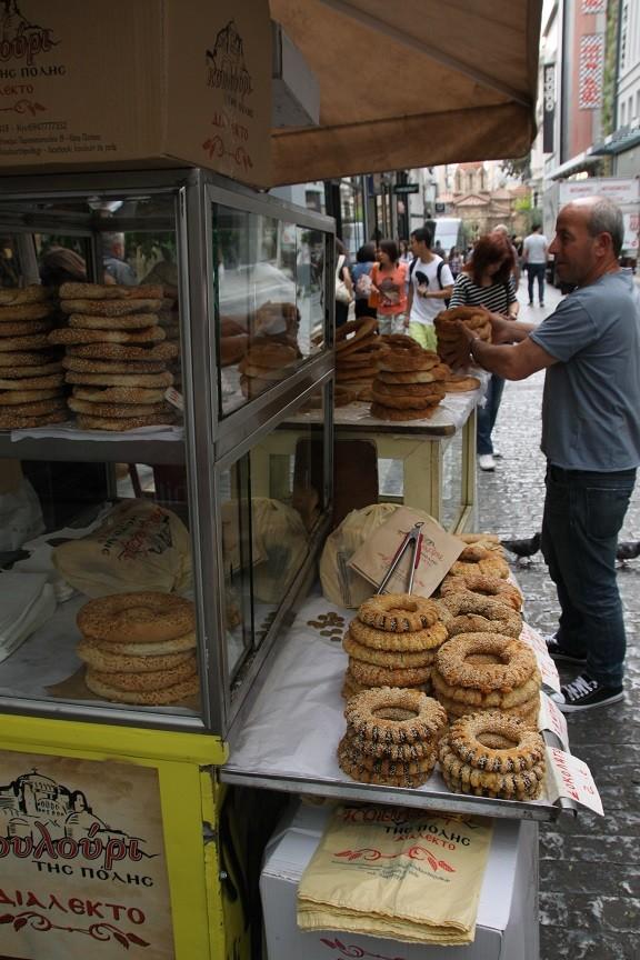 Streetfood Winkelstraat Athene Griekenland Foodblog Foodinista