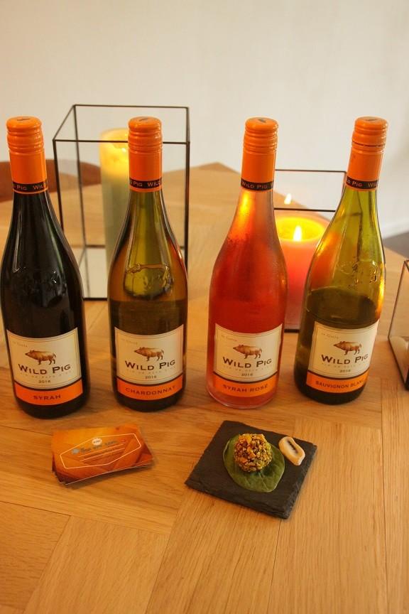 Huiskamerdineren in Breda met Wild Pig wijnen Foodblog Foodinista