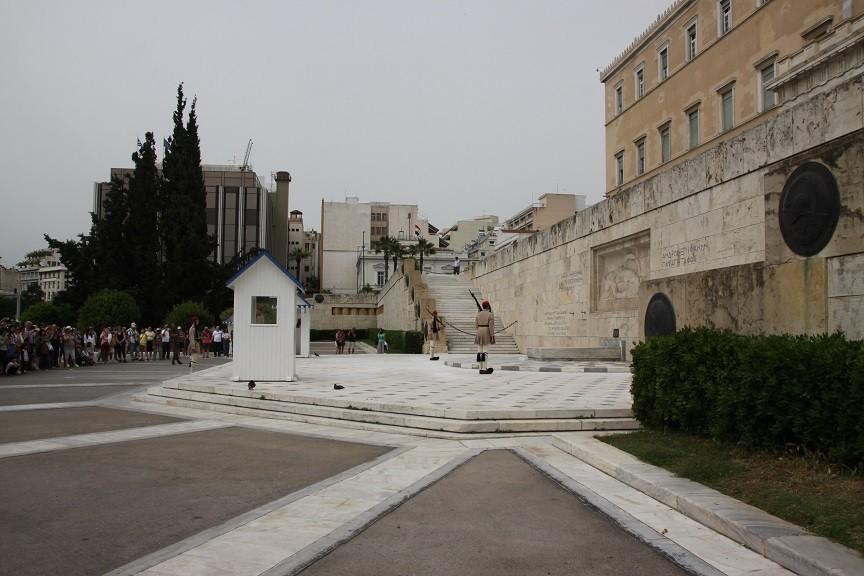 Wisseling van de wacht presidentieel paleis Athene in Griekenland Foodblog Foodinista