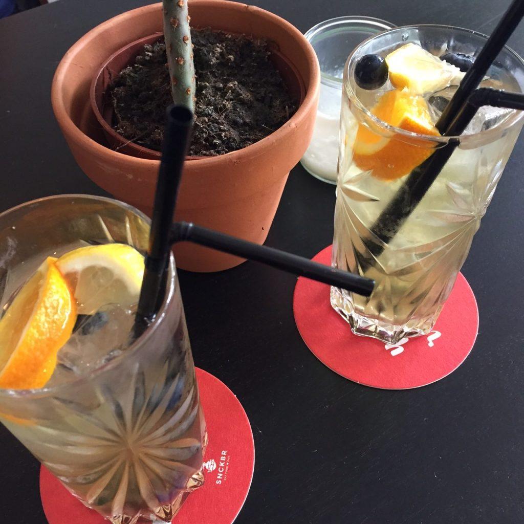 Homemade Ice Tea bij SNCKBR in Eindhoven Foodblog Foodinista