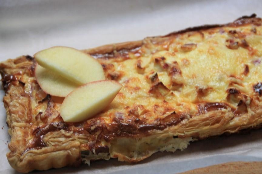 Vierkazenquiche met appel recept van foodblog Foodinista