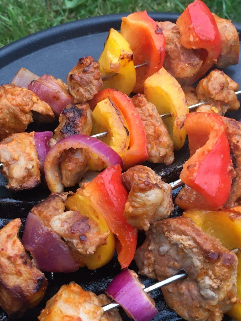 Shaslicks recept uit kookboek saté en bier foodblog Foodinista