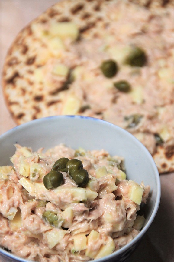Tonijnsalade met appel recept Foodblog Foodinista