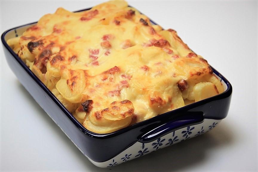 Bloemkoolschotel met ham en kaas recept van Foodblog Foodinista