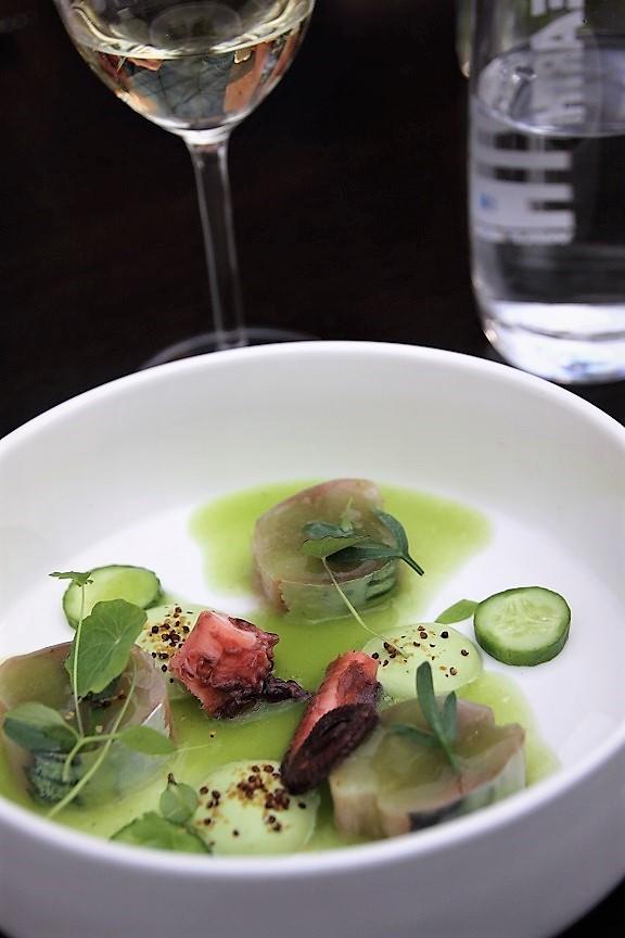 Ceviche van Makreel verrassend dineren bij Restaurant Karakter in Rotterdam review Foodblog Foodinist