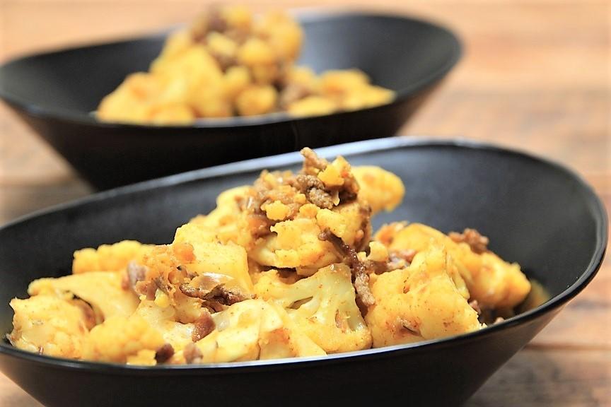 Geroosterde bloemkool salade met parel couscous recept van foodblog Foodinista