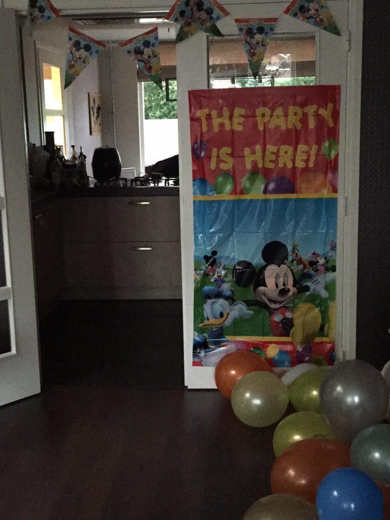 Versierd in Mickey style peuter verjaardag vieren blog Foodinista