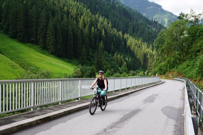 Mountainbiken in Tirol Oostenrijk Blogger Foodinista