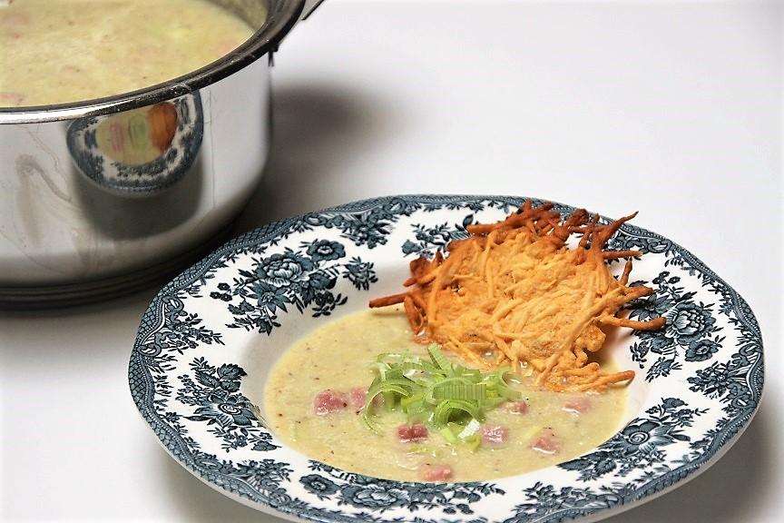 Preisoep met ham recept van Foodblog Foodinista