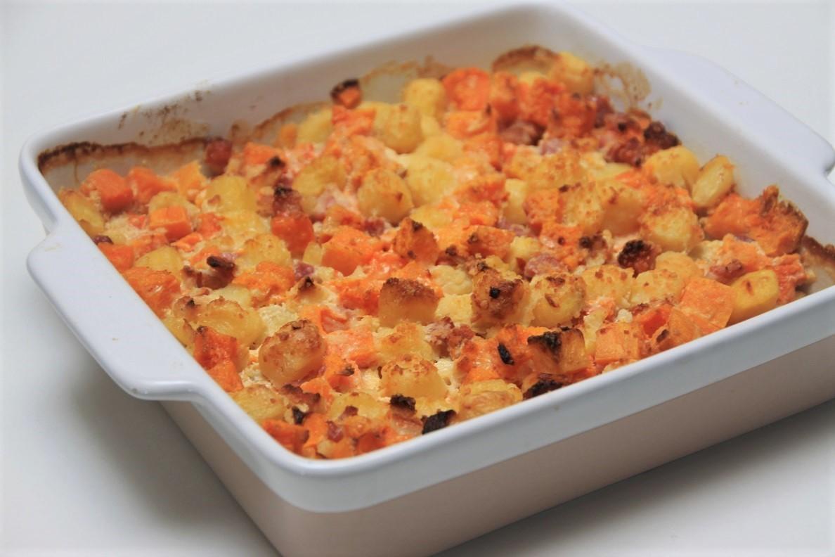 Pompoen ovenschotel recept van Foodblog Foodinista