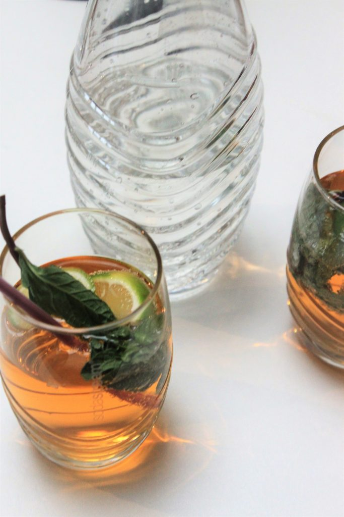 Alcohol vrij appel spritzer recept met de Soda Stream foodblog Foodinista
