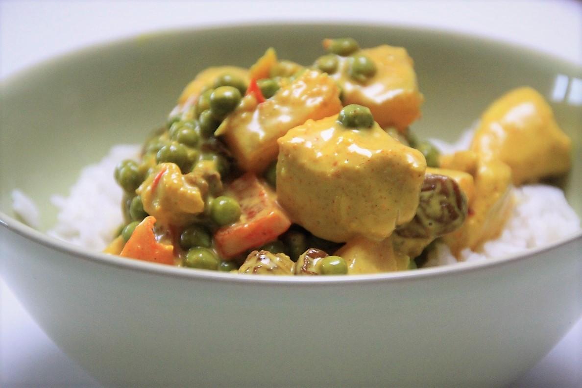 Kip kerrie met ananas recept van foodblog Foodinista
