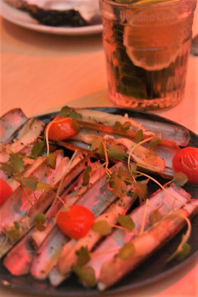 Scheermesjes Fish Mercado Antwerpen Smaakmeesters Ervaring Foodblog Foodinista