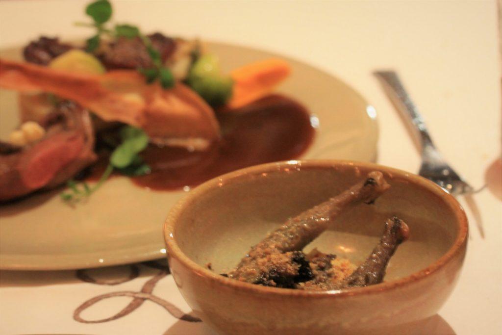 Duif bereidingen Le Zoute Zoen restaurant in Antwerpen Foodinista