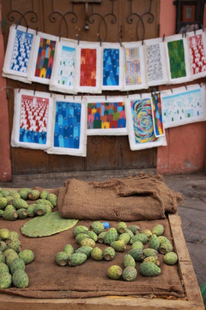 Cactusvruchten Djem El Fna food tour Marrakech