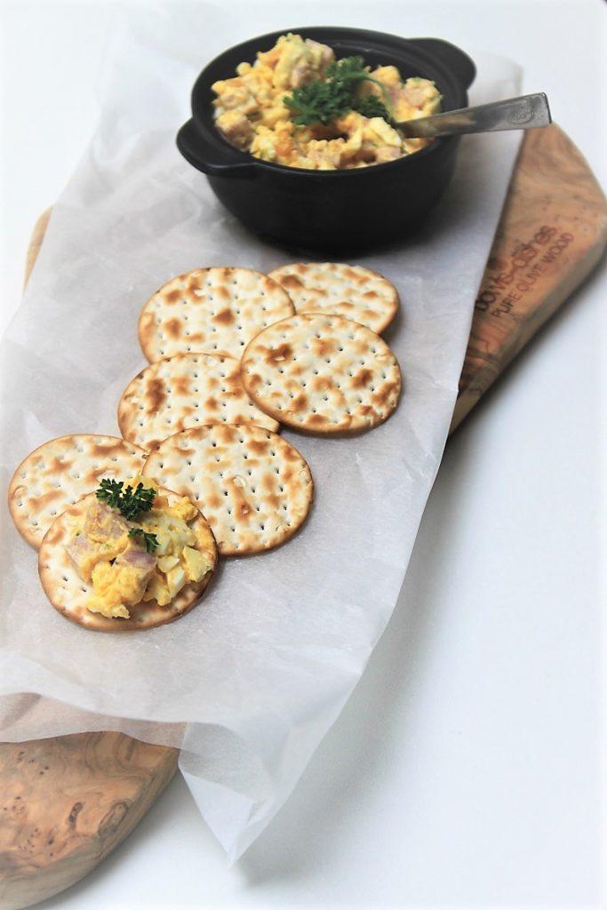 Eiersalade recept met truffel van receptblog Foodinista