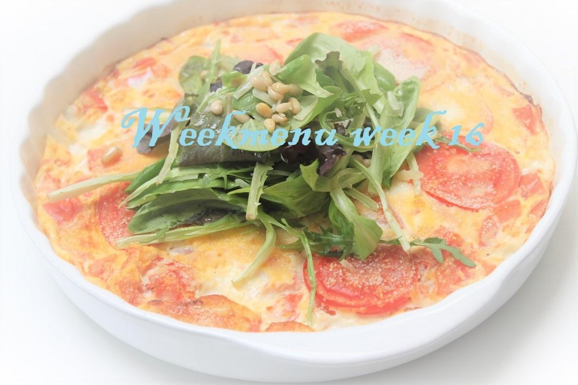 Gevarieerd en makkelijk weekmenu week 16 van Foodblog Foodinista