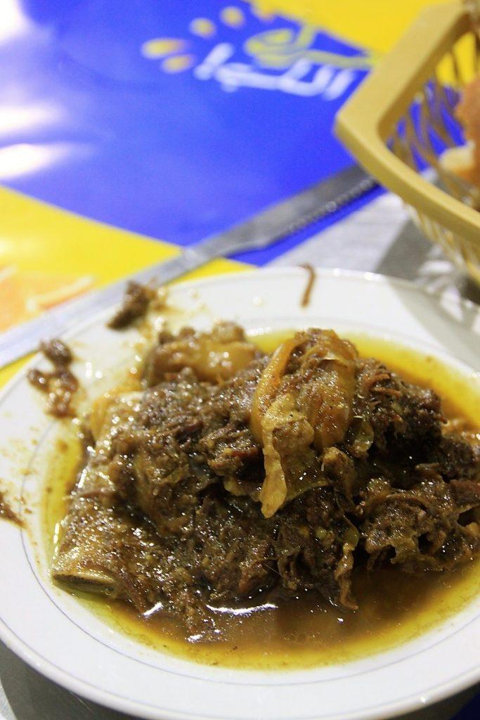 Marokkaans stoofvlees restaurant Djem El Fna foodtour Marrakech Foodinista