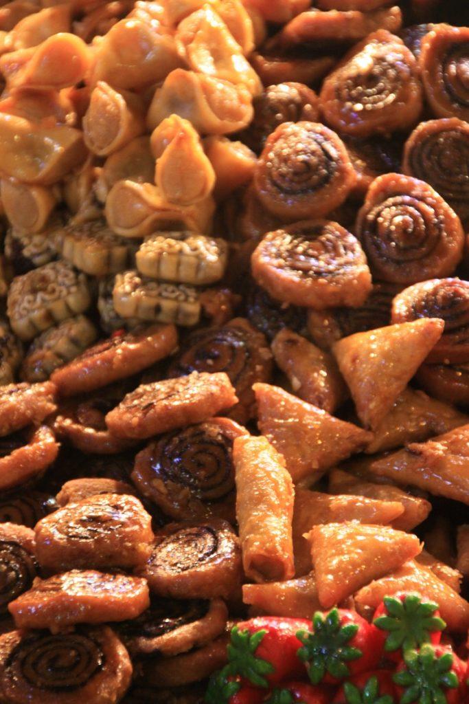 Marokkaanse koekjes foodtour in Marrakech Foodblog Foodinista