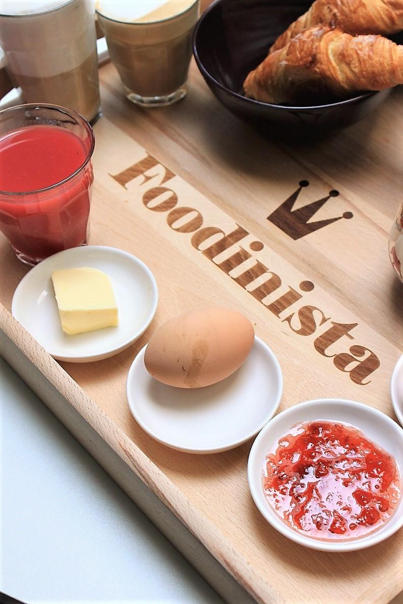 Goede Ontbijt op bed voor het gelukkige bruidspaar - Foodblog Foodinista XX-11