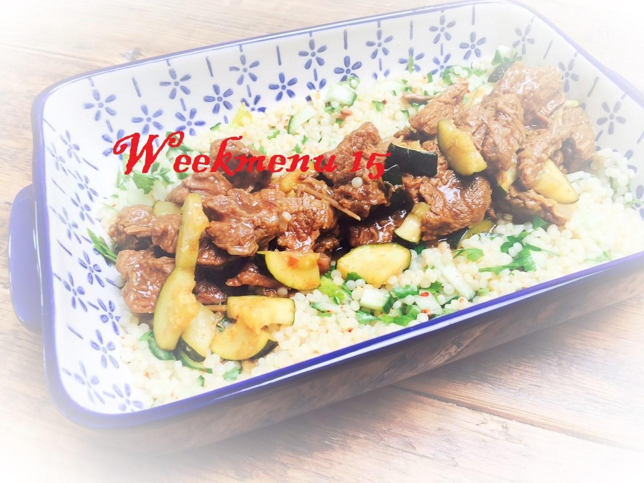 Gevarieerd en makkelijk weekmenu Foodblog Foodinista