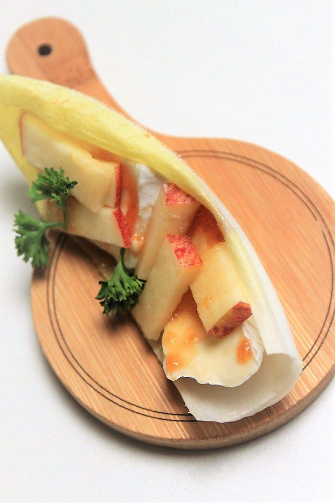 Witlofschuitjes brie en appel recept Foodblog Foodinista 6x witlofschuitjes inspiratie