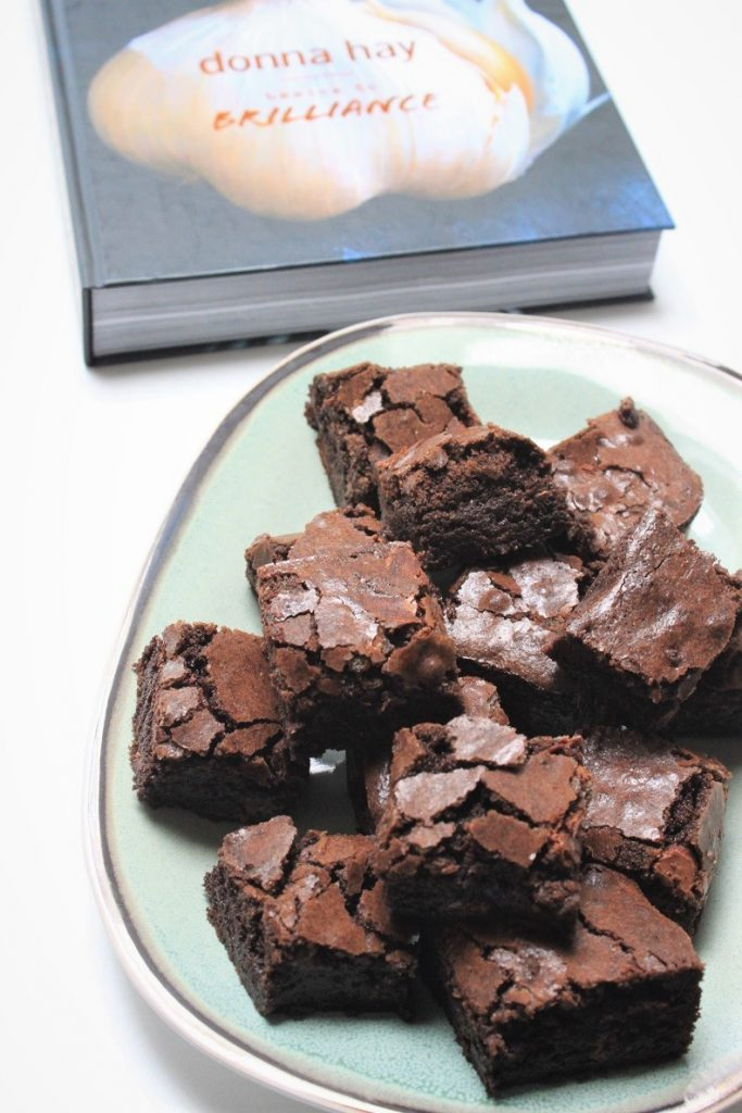 Brownies recept van Donna Hay uit Basics to Brilliance foodblog Foodinista