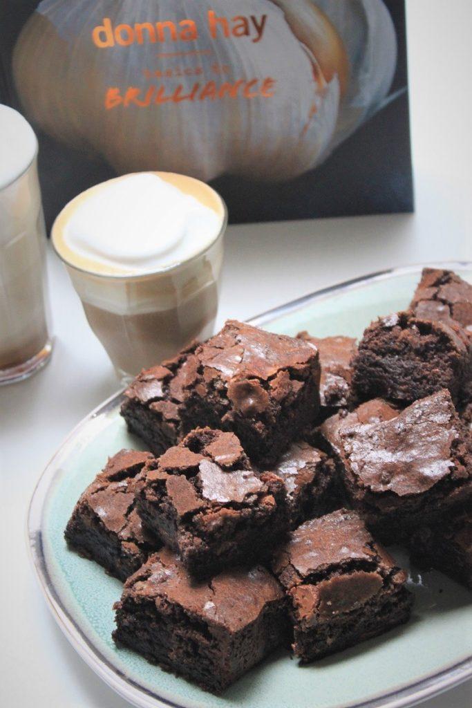 Choco chunck brownies recept van Donna Hay Foodblog Foodinista