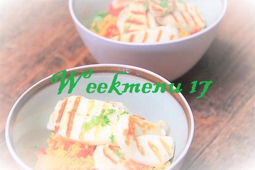 Gevarieerd en makkelijk weekmenu week 17 recepten van Foodblog Foodinista