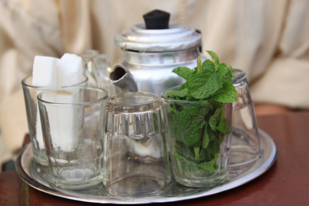 Marokkaanse thee drinken reisverhalen Foodinista