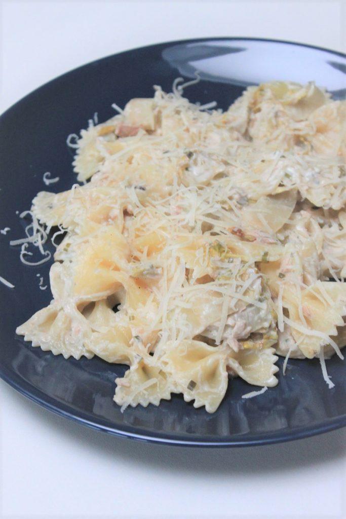 Pasta met tonijn en witlof recept Foodblog Foodinista