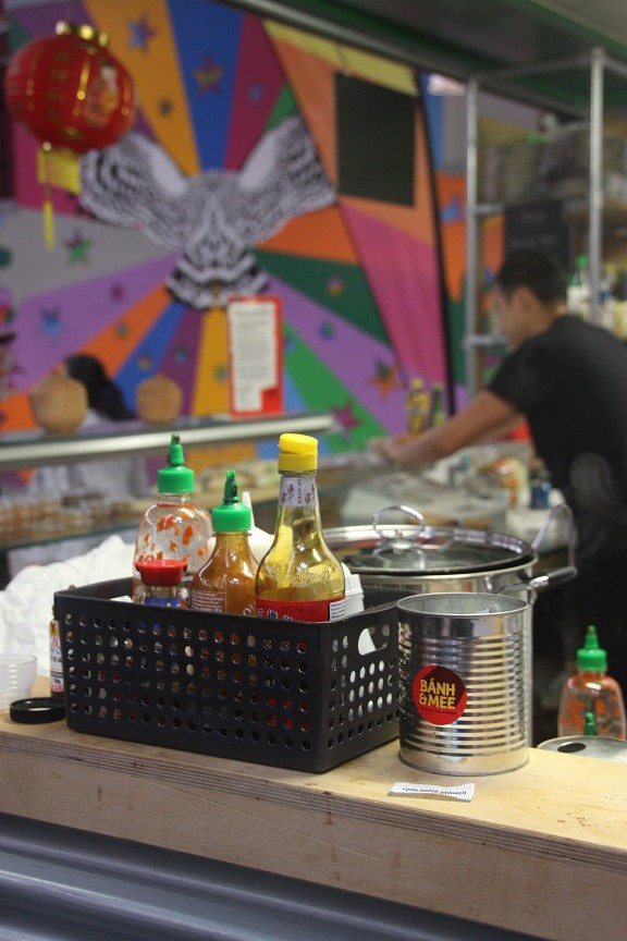 Vietnamees in Kirkgate Markethall Leeds
