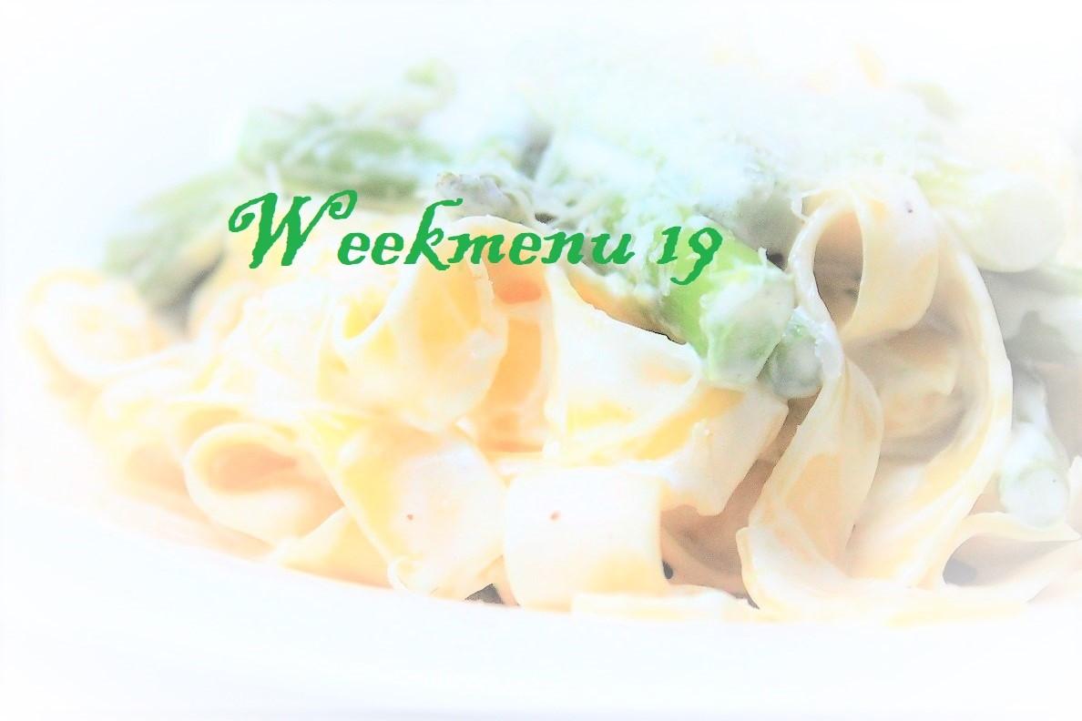 Gevarieerd en makkelijk weekmenu week 19 Recepten van Foodblog Foodinista